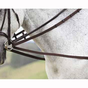 Cotton Web Continental Draw Reins