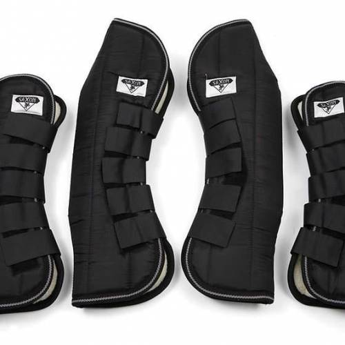 Saxon Travel Boots - Black