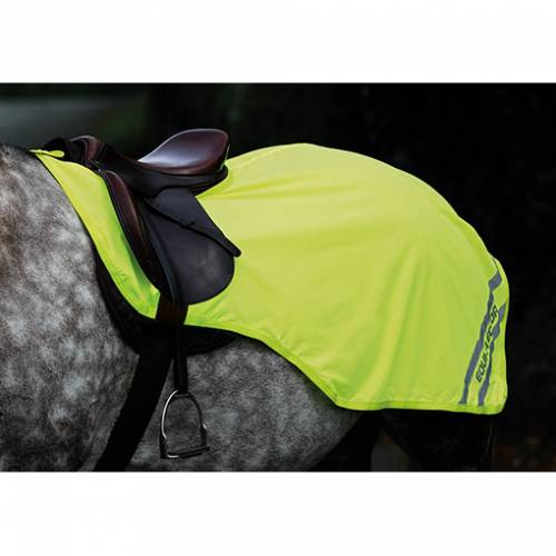 Equi-Flector waterproof Reflective Hi Viz Exercise Sheet - Yellow