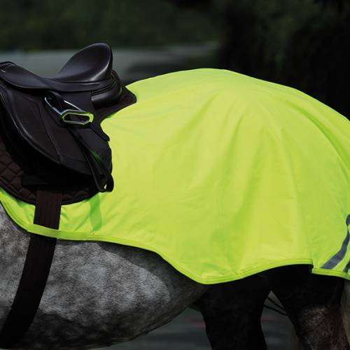 Equi-Flector Reflective Hi Viz Mesh Exercise Sheet - Yellow