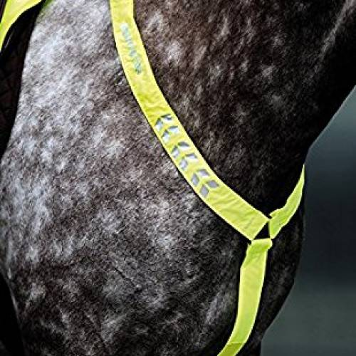 Equi-Flector Hi Viz Breastplate - Yellow