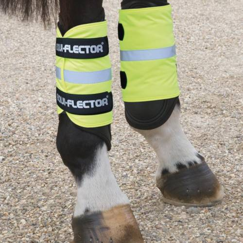 Equi-Flector Wraps - Yellow