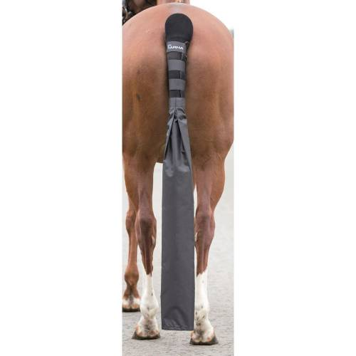 Shires Tail Guard With Detachable Bag - Black image