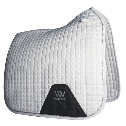 Woof Wear Contour Dressage Saddle Cloth - White