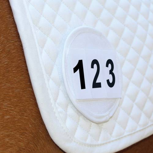 Equetech Saddle Cloth Number Holder image