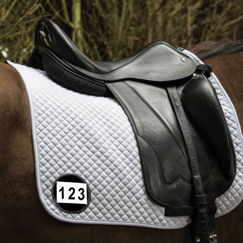 Equetech Saddle Cloth Number Holder