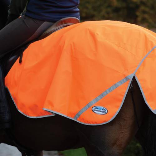 Weatherbeeta 300D Reflective Hi Viz Exercise Sheet - Orange