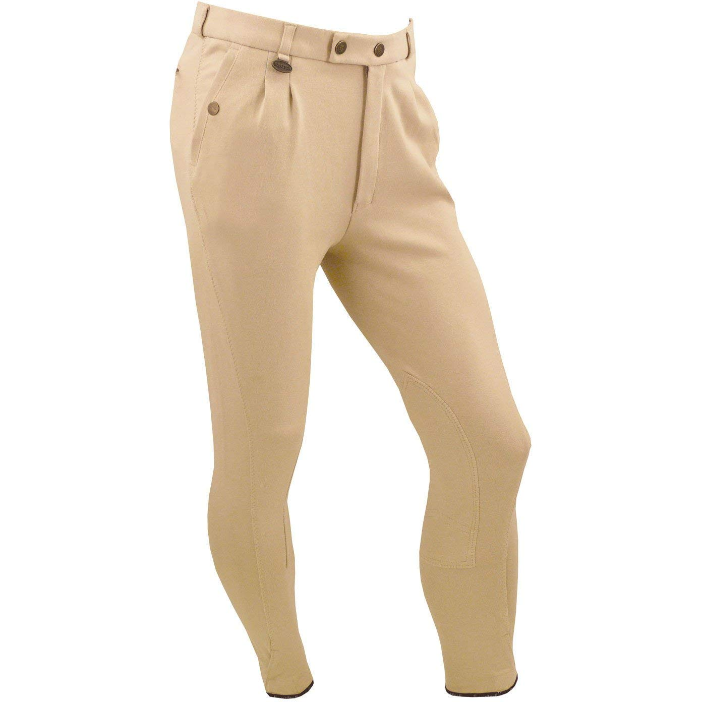 Equetech Mens Casual Breeches - Beige
