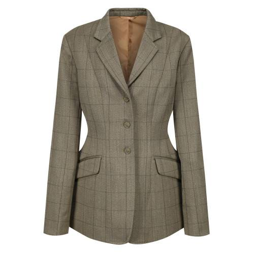 Equetech Foxbury Tweed Jacket - Olive