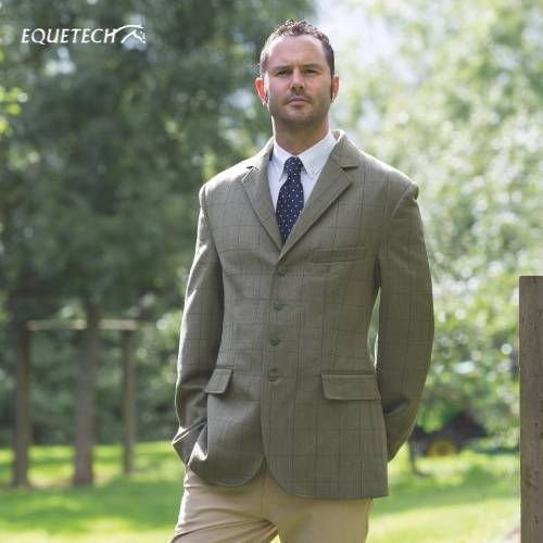Equetech Foxbury Tweed Jacket - Mens 42''