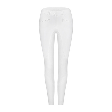 Cavallo Dany Knee Patch Breeches - White