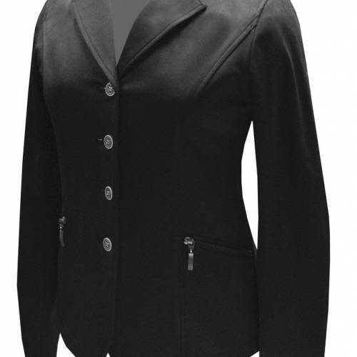 Equetech Ellipse Competition Jacket - Black 14