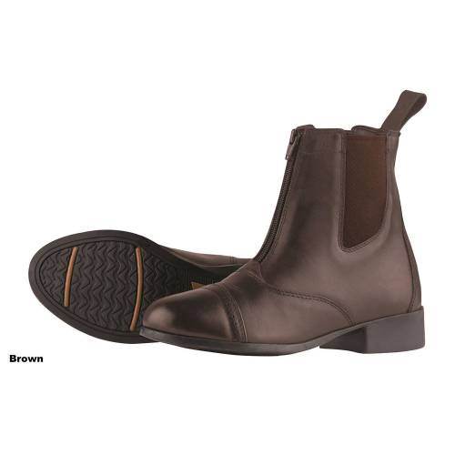 Dublin Elevation 2 Adults Zip Jodhpur Boots - Brown