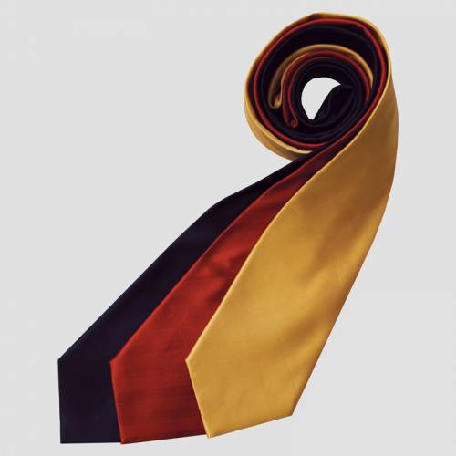 Equetech Herringbone Tie - Junior - Canary