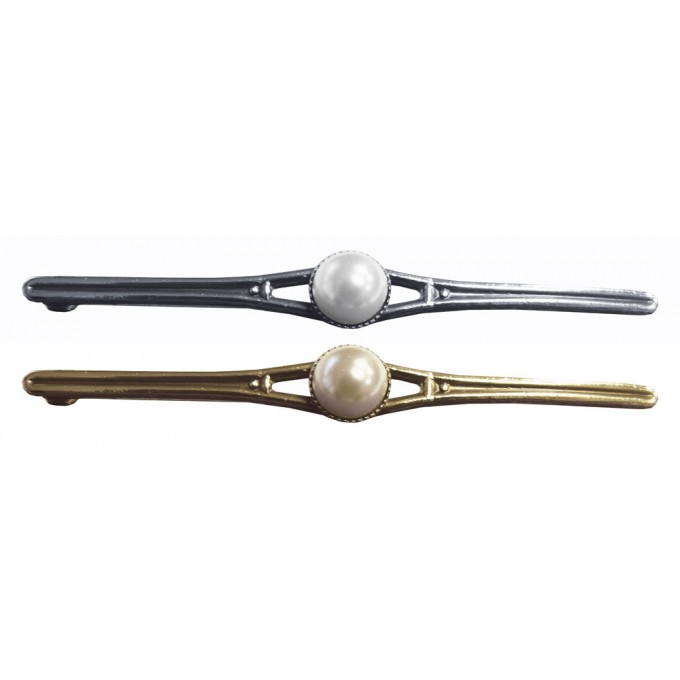 Equetech Pearl Stock Pin