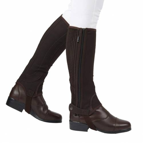 Dublin Easy Care Half Chaps - Junior