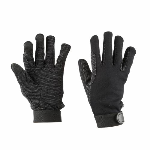 Dublin Track Riding Gloves - Black