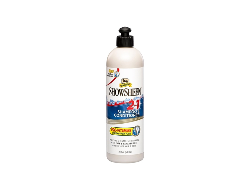 Absorbine Showsheen 2 in 1 shampoo and conditioner