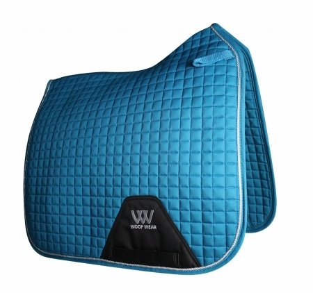 Woof Wear Dressage Saddlepad - Turquoise