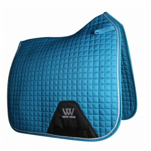 Woof Wear Contour Dressage Saddle Cloth - Turquoise