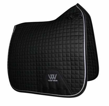 Contour Dressage Saddle Cloth - Black