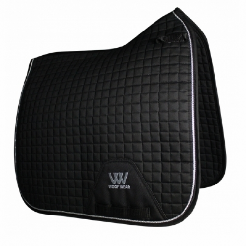 Woof Wear Contour Dressage Saddle Cloth - Black