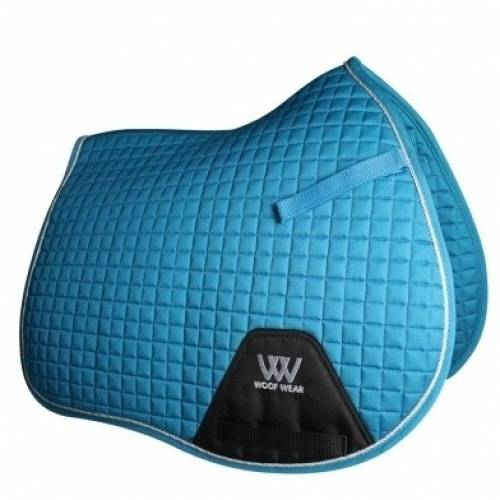 Woof Wear Contour General Purpose Saddle Cloth - Turquoise