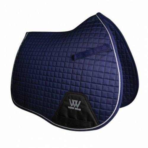 Woof Wear Contour General Purpose Saddle Cloth - Navy Blue