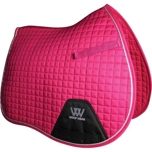 Woof Wear Contour General Purpose Saddle Cloth - Berry Pink