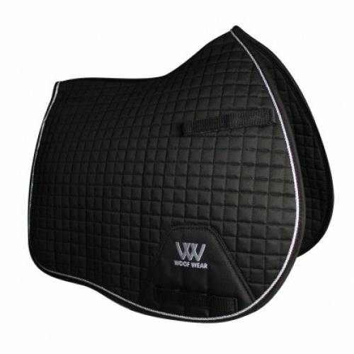 Woof Wear Contour General Purpose Saddle Cloth - Black