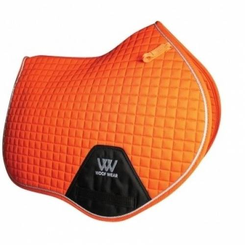 Woof Wear Contour Close Contact Saddle Cloth - Orange