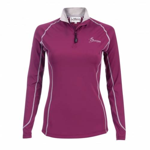 LeMieux Base Layer - Plum - Medium