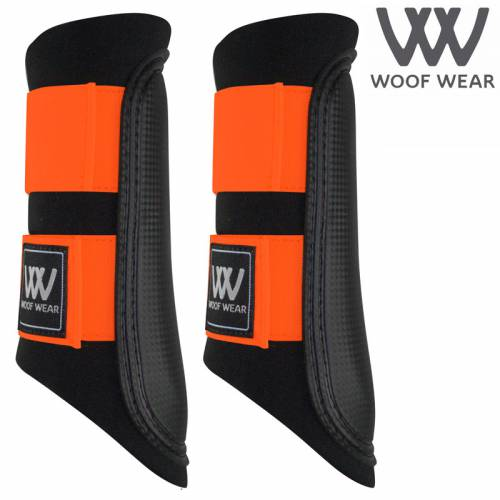 Woof Wear Colour Fusion Club Brushing Boots - Orange