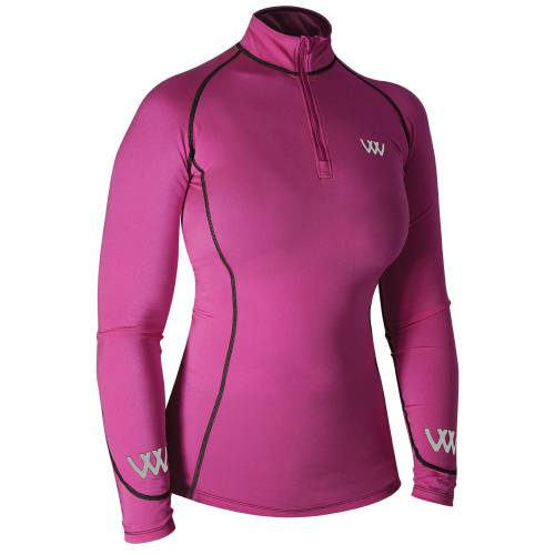 Woof Wear Base Layer  - Berry