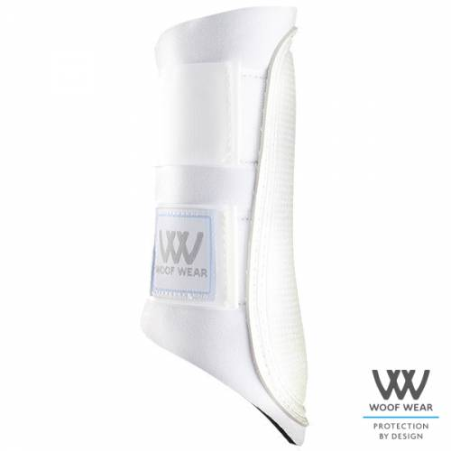 Woof Wear Club Brushing Boots - White