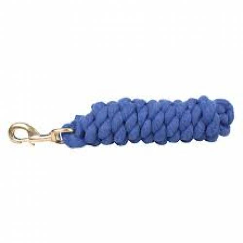 Plain Headcollar Lead Rope - Royal Blue