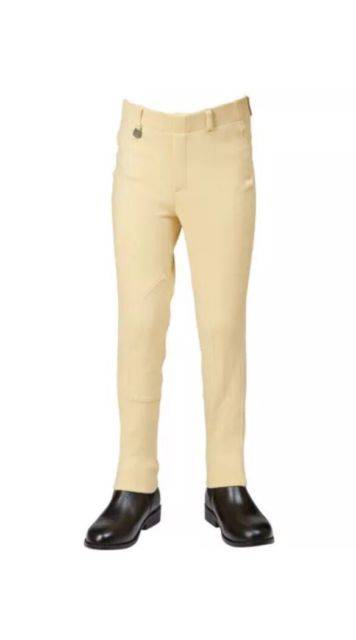 Dublin Old Style Childs  Supa Fit Pull-On  Jodphurs - Beige
