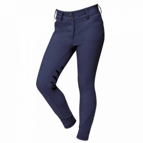 Dublin Prime Gel Knee Patch Childs Breeches - Navy