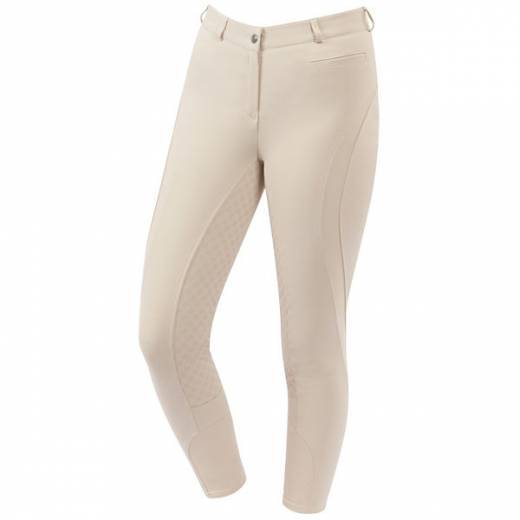 Dublin Edge Gel Full Seat Breeches - Sand