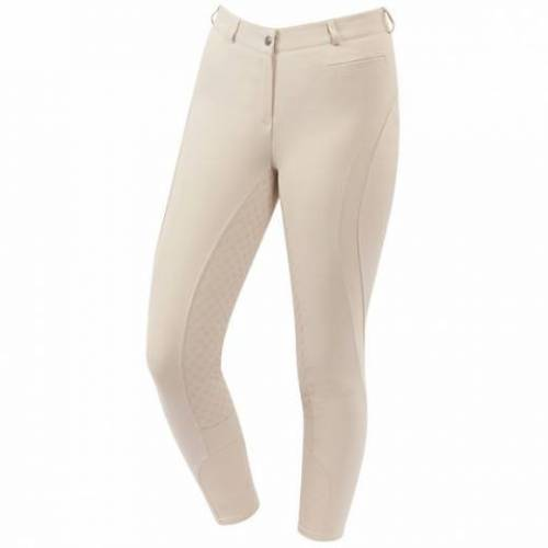 Edge Gel Full Seat Breeches - Sand