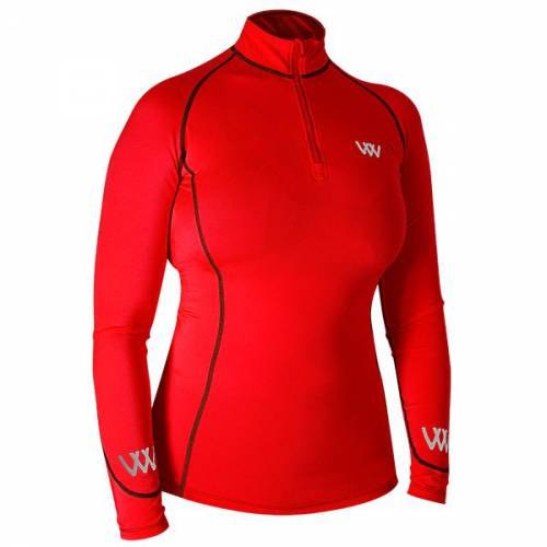 Woof Wear base layer - Royal Red