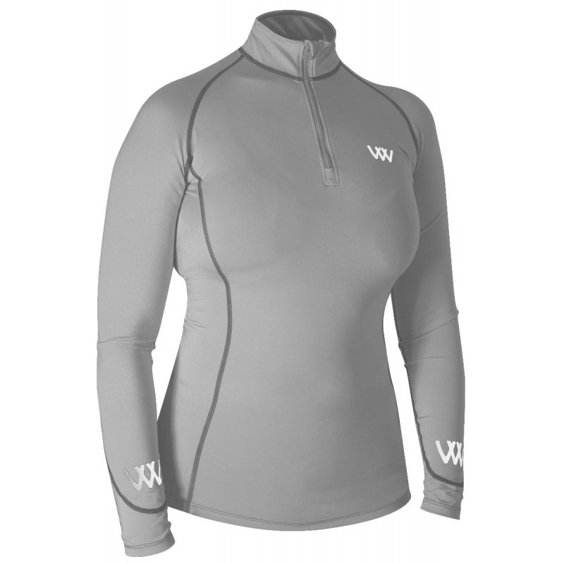 Woof Wear Base Layer  - Brushed Steel
