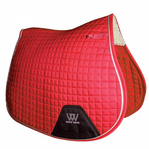 Woof Wear General Purpose Saddle Cloth - Royal Red image