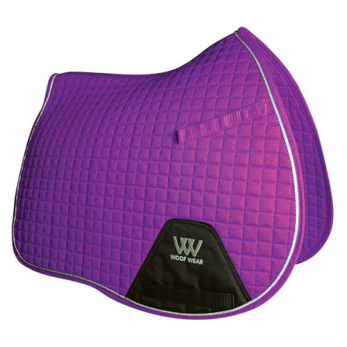 Woof Wear Contour General Purpose Saddle Cloth - Ultraviolet Purple
