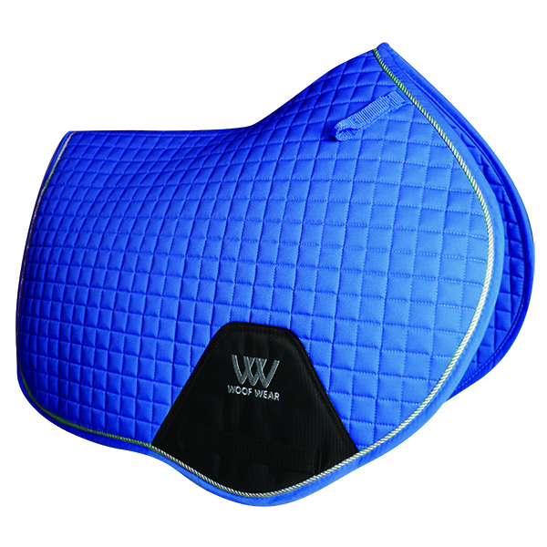 Woof Wear Contour Close Contact Saddle Cloth - Electric Blue - Full
