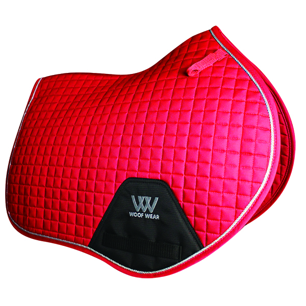 Woof Wear Close Contact Saddlepad - Royal Red - Full