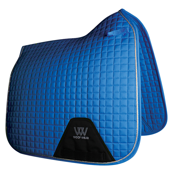 Woof Wear Dressage Saddlepad  - Electric Blue