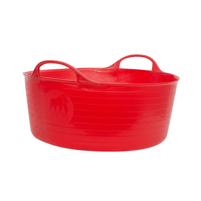 Tubtrug Shallow 15L Feed Bucket - Red