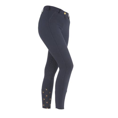 Shires Aubrion Chapman Ladies Breeches - Navy