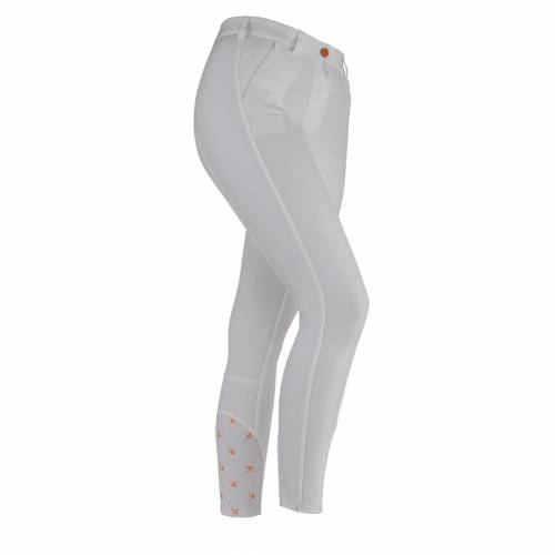 Shires Aubrion Chapman Ladies Breeches - White